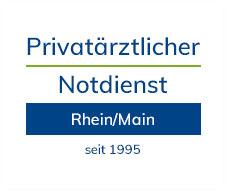 Logo Privatärztlicher Notdienst Rhein-Main