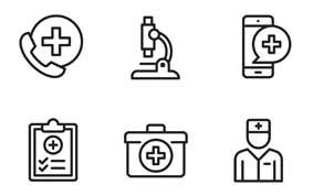 Verwendete Icons